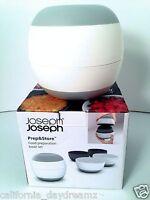 Joseph Joseph Prep & Store 4 Piece Nestable Serve Food Container Bowl Set