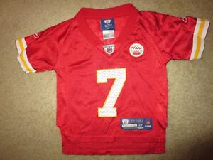 best service 5afb9 f686e Details about Kansas City Chiefs #7 AFC Reebok NFL Jersey Toddler 2T