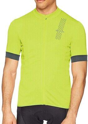 Craft Rise Short Sleeve Womens Cycling Jersey Yellow Ergonomic UPF25 Cycle Top