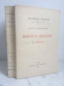 Anatole-France-Monsieur-Bergeret-a-Paris-Calmann-Levy-1925