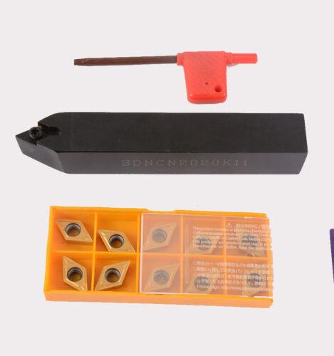 SDNCN2020K11 20 x125mm  external lathe Turning Tool Holder 10PCS DCMT11T304..