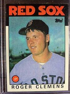 Roger Clemens Baseball Card #661 Topps Boston Red Sox MLB HOF Free Ship NM-MT