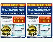 2x Lipozene Maximum Strenght  Lose Pure Body Fat 60 Caps each No box (120 Total)