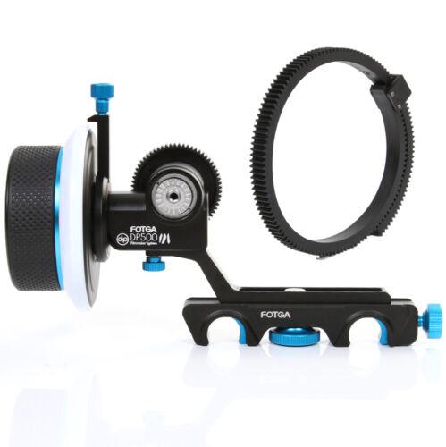 FOTGA DP500III Quick Release Follow Focus for Camera DV 15mm Rod DSLR Rig System