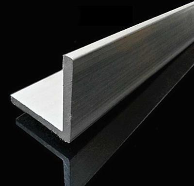 "US Stock 4pcs 10mm x 10mm x 250mm 9.84/"" Long 2mm Thick 6063 T5 Aluminum Angle"