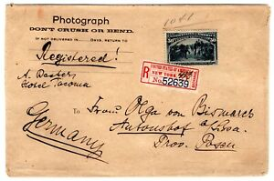 240-Columbian-50c-Solo-on-Photograph-Env-1894-Registered-NY-to-Germany