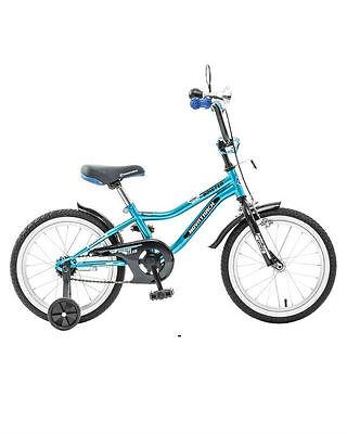 "Велосипед Boister синий 16"" Novatrack (Новатрек)"