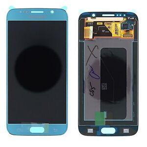 Samsung-s6-G920F-Lcd-Display-Touch-Screen-Original-Blue-TOPAZ-blue