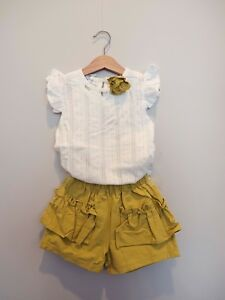 New Toddler Girl Dress Kids Baby Summer Tops+Skirt Shorts Outfits Clothes Set US