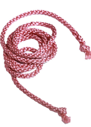 Double Twisted Braided Crape Cord Rope Craft Jewellery Soutache Pipping