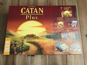 Set-von-Tisch-Catan-Plus-Edition-Spanische-Devir-2019-Eurogame