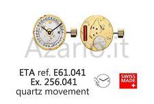 Movimento al quarzo ETA 256.041 movement quartz E61.041 Swiss Made