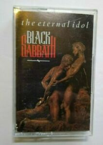 Black-Sabbath-The-Eternal-Idol-Cassette-Tape-Album-1987-AR-Hard-Rock-Heavy-Metal