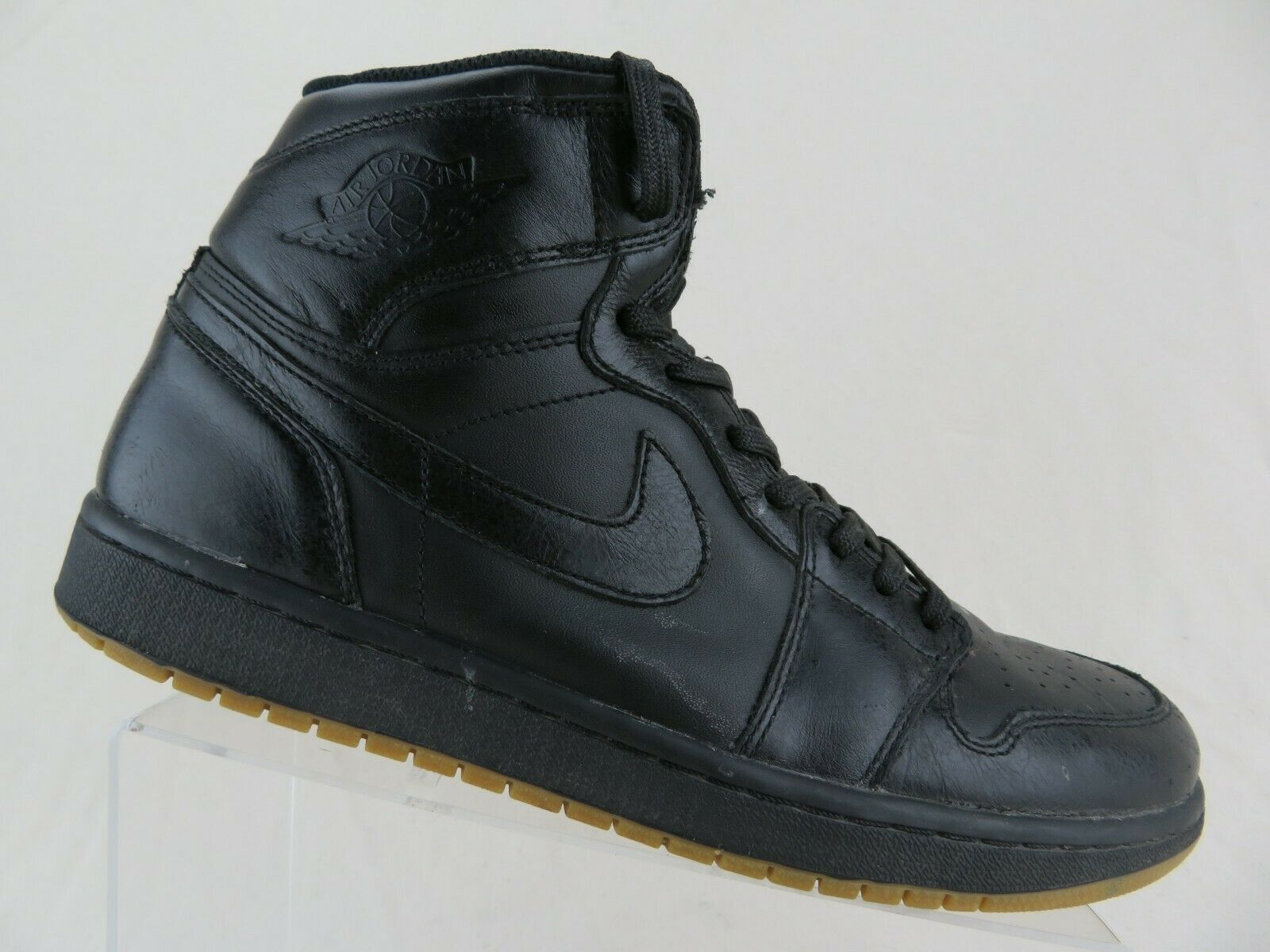 NIKE Air Jordan 1 I Retro High OG Black Gum Sz 11.5 Men Basketball shoes