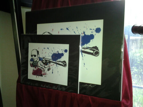Dr Hunter S Thompson  Best Matted Great Art Print Fear and Loathing in Las Vegas