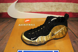 95ac9dc3ce8 Image is loading Nike-Air-Foamposite-Pro-Metallic-Gold-624041-701-