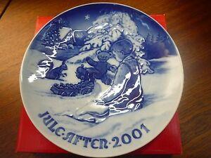 Bing & Grondahl Piatto di Natale 2001 - Christmas Plate -Rivenditore Autorizzato