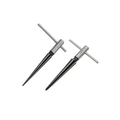 3.18-12.7mm T Tapered Taper Hand Held Reamer Hole Pipe Reaming Tool Favor IN9X