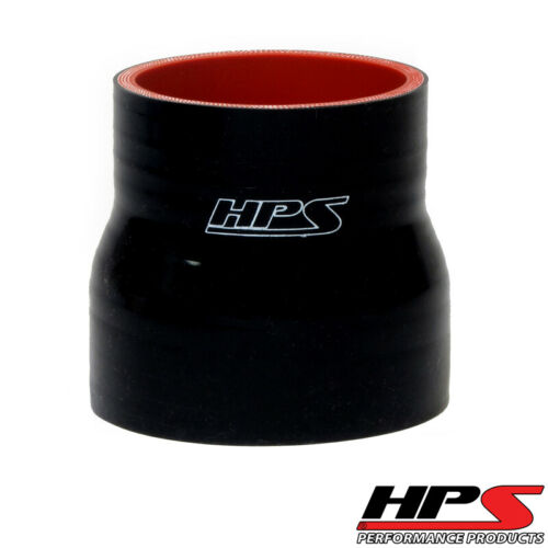"""3/"""" Long High Temp 4-ply Reinforced Silicone Reducer Coupler 2/"""" ID HPS 1.75/"""""""