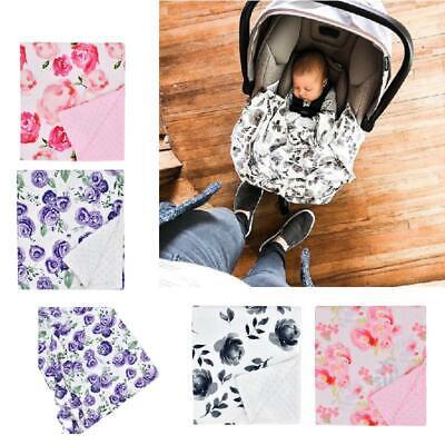 2x Muslin Baby Wrap Swaddling Blanket Toddler Infant Swaddle Towel 120x120cm