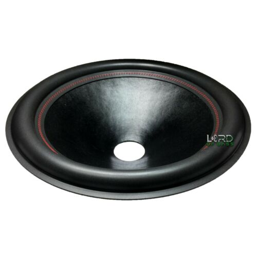 """21/"""" Subwoofer Speaker Cone Fat Roll 3/"""" VCID RED STITCHING CN2130"""