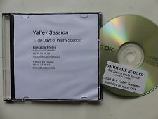 CDr promo RODOLPHE BURGER Days of Pearly Spencer ( DAVID MC WILLIAMS )