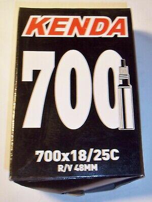 Kenda 700 x 20 23 25 28C 48mm Threaded Presta Valve Road Bike Tube RVC Pack
