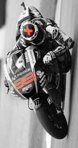 Plaque métal   moto de course Superbike    30 X 20 CM