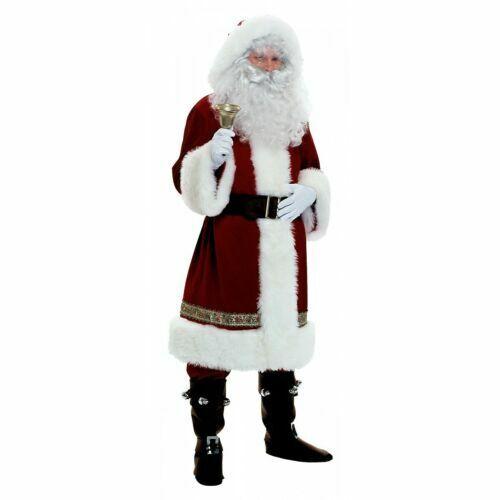 Santa Costume Deluxe Victorian Santa Claus Suit Ch