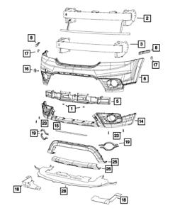 2006-2014 CHRYSLER 300 Front Fascia Headlight Wiring NEW OEM MOPAR