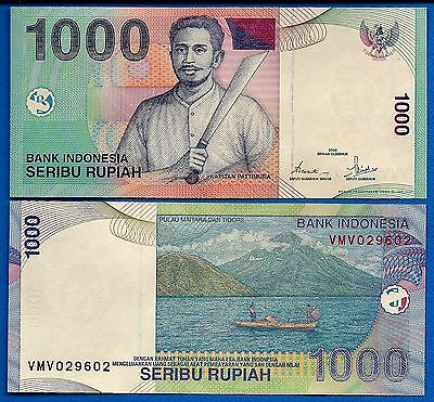 Indonesia 1000 Rupiah  2000  P-141 Uncirculated