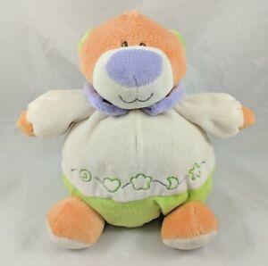Baby-Ganz-Tangerine-Bear-Plush-Jingle-Bell-8-034-Stuffed-Animal