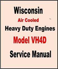 Wisconsin Engine Repair Parts Catalog S236 On Cd Ebay