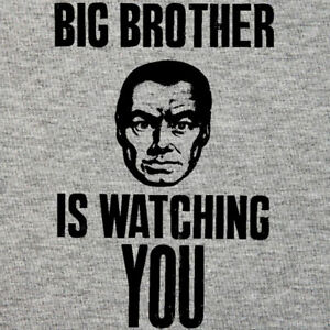 Image Is Loading George Orwell T Shirt Big Brother Watching