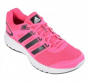 Details about uk size 4.5 adidas duramo 6 womens running gym fitness trainers pink b39764
