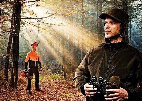Forststiefel KWF Schnittschutzstiefel S3 Black Forest Sicherheitsschuhe Gr.40-47