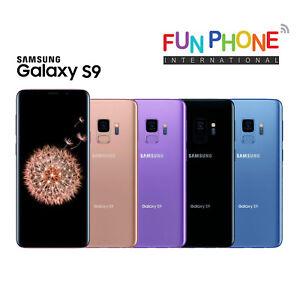 Samsung-Galaxy-S9-Plus-64GB-Unlocked-Smartphone-Choose-color-Condition-in-Box