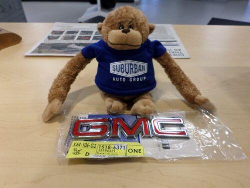 GM BRAND NEW CHROME EMBLEM GMC 15186371