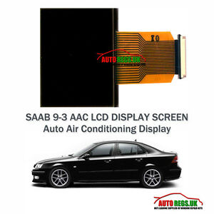 SAAB-9-3-ACC-Auto-Climate-Control-Pantalla-LCD-amp-Cable-de-cinta-Recambio-NUEVO