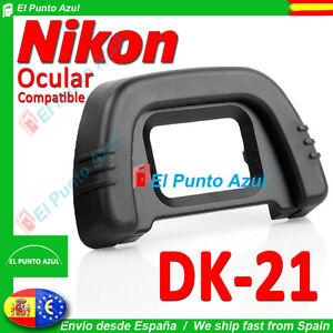 Visor Ocular DK-21 NIKON ★ para D300 D200 D80 D90 D50 D7000 D750 D610 D600