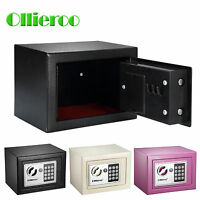 Ollieroo Mini Digital Safe Box Keypad Lock Security Home Office Cash Jewelry Box