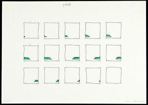 Fluxus-1979-Handkoloriertes-Multiple-Tomas-SCHMIT-1943-2006-D-handsigniert