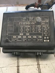 88 89 Honda Prelude SI Under Hood Fuse Box With Fuses and Cover OEM USED |  eBayeBay