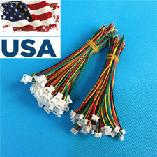 Micro JST 1.25mm 1.25 JST 2P 2-Pin Male Connector with Wire Female Plug 20sets
