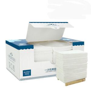 Hot-Disposable-Face-Cloths-Towel-Cotton-Wash-Infection-Control-Supersoft