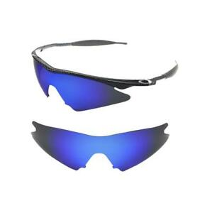 5740f7e0ec5 NEW POLARIZED ICE BLUE CUSTOM SWEEP LENS FOR OAKLEY M-FRAME ...