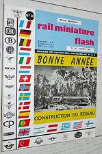 RMF RAIL MINIATURE FLASH N°45 1966 TRAINS LOCOMOTIVES / RESEAU MÄRKLIN RIVAROSSI
