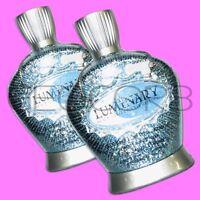 2 Designer Skin Luminary 25x Silicone Black Label Bronzer Tanning Bed Lotion