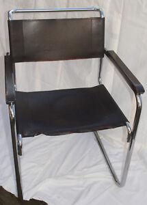 Stuhl 2 Thonet Freischwinger S34 Leder Klassiker Bauhaus A4lj35r