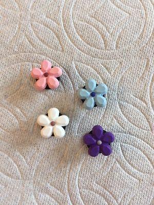 8e6aa63dd18ea FLOWER JIBBITZ FLOWER SHOE CHARMS FITS CROCS FLOWER CLOG CHARMS FITS CROCS  | eBay